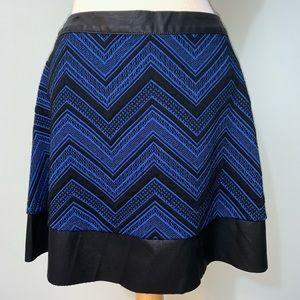Candie's black/blue skirt